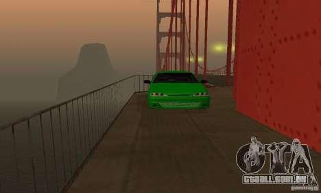 VAZ 2113 ADT Art Tuning para GTA San Andreas vista interior