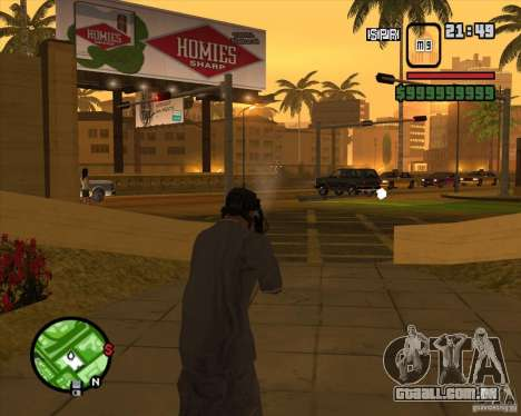Sinos e assobios para armas para GTA San Andreas nono tela