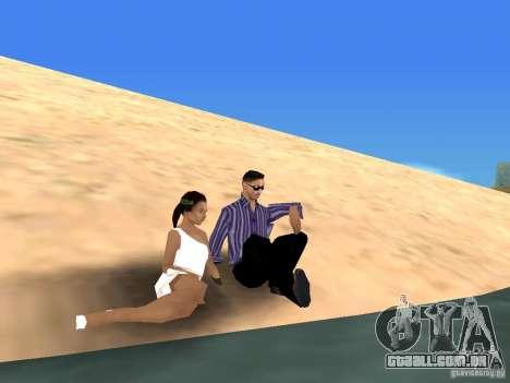 Viagem de carro para GTA San Andreas
