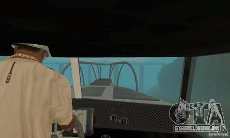 Reefer GTA IV para GTA San Andreas vista traseira