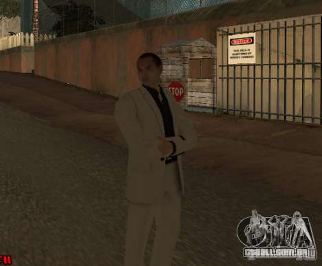 Red Dragon Clan Yakuza para GTA San Andreas segunda tela