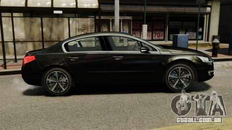 Peugeot 508 Presidentielle ELS para GTA 4 esquerda vista