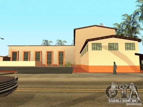Novas texturas para a estação da unidade para GTA San Andreas