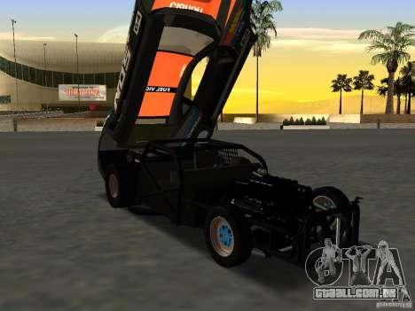 Chevrolet Camaro NOS para GTA San Andreas vista direita