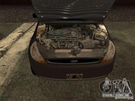Ford Ka 1998 para GTA San Andreas vista direita