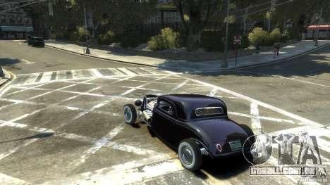 Ford Ratrod 1934 para GTA 4 esquerda vista