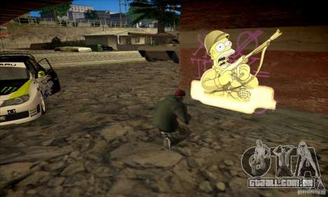 Simpson Graffiti Pack v2 para GTA San Andreas