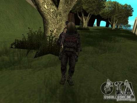 Membro considera em traje para GTA San Andreas quinto tela