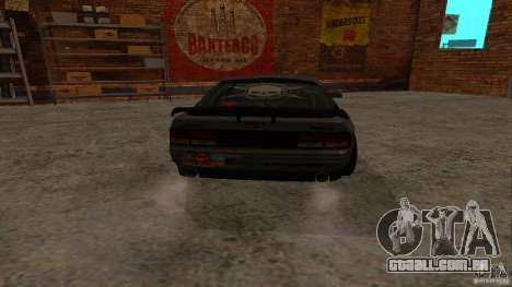 GTA Shift 2 Mazda RX-7 FC3S Speedhunters para GTA San Andreas traseira esquerda vista