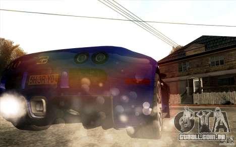 Lensflare para GTA San Andreas sexta tela