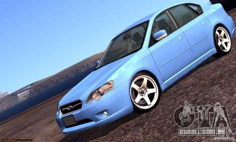 Subaru Legacy 2004 v1.0 para o motor de GTA San Andreas