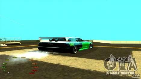 Pack vinil para Elegy para GTA San Andreas segunda tela