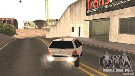 Renault Twingo para GTA San Andreas traseira esquerda vista