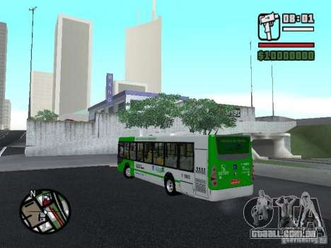 H Hibrido TUTTO 15M UPB C2 EX DR para GTA San Andreas esquerda vista