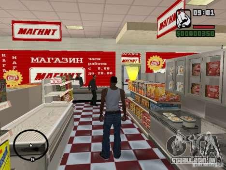 Lojas de ímã para GTA San Andreas