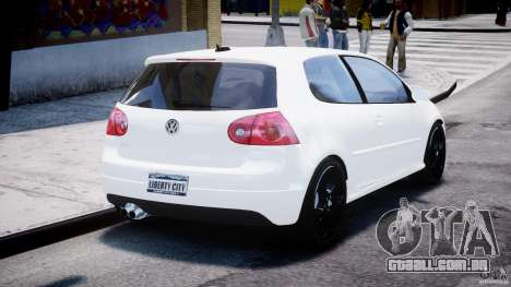 Volkswagen Golf 5 GTI para GTA 4 vista lateral