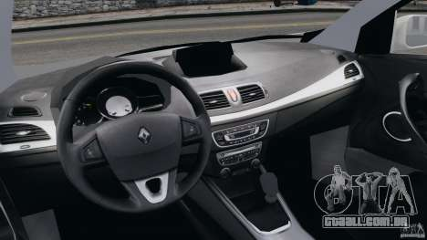 Renault Megane Coupe para GTA 4 vista de volta