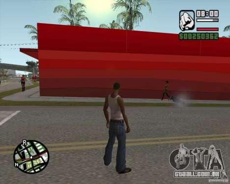 Loja Ecko para GTA San Andreas por diante tela
