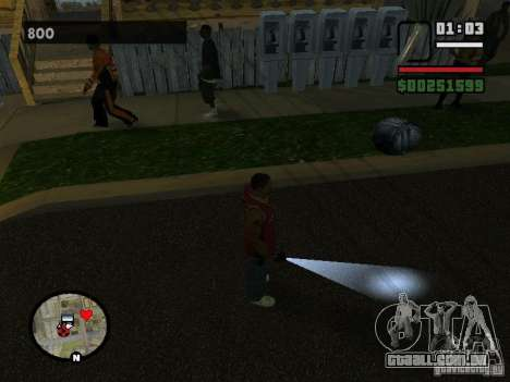 Lanterna para GTA San Andreas