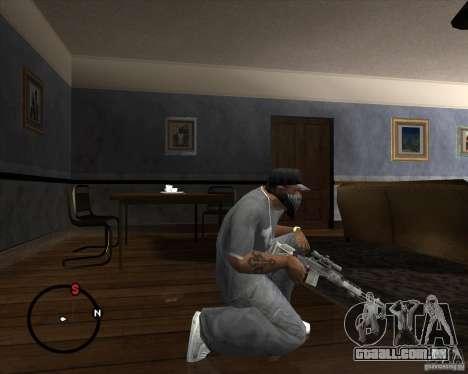 M14 EBR para GTA San Andreas segunda tela