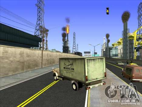 Yankee baseado no GMC para GTA San Andreas vista direita