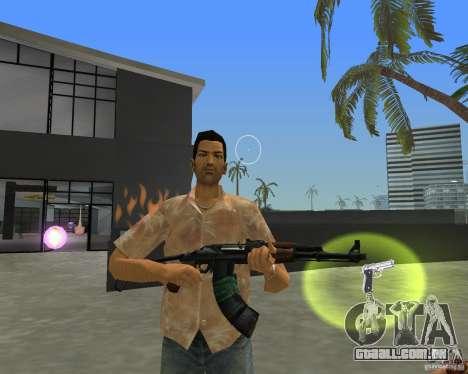 AKS-74 para GTA Vice City segunda tela