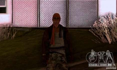 Pirata para GTA San Andreas quinto tela