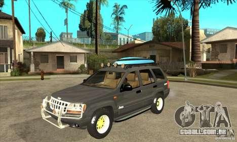 Jeep Grand Cherokee 2005 para GTA San Andreas