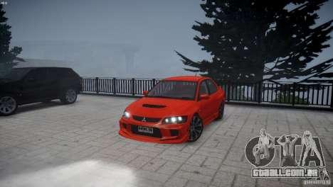 Mitsubishi Lancer Evolution 8 v2.0 para GTA 4