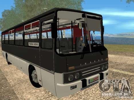Ikarus Z50 para GTA San Andreas traseira esquerda vista
