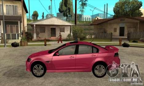Chevrolet Lumina SS para GTA San Andreas esquerda vista