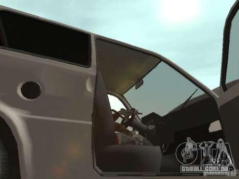 Proteína de Oka VAZ 1111 para GTA San Andreas vista interior