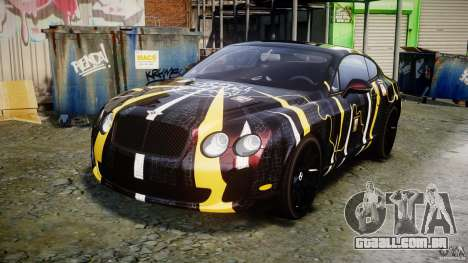 Bentley Continental SS 2010 Gumball 3000 [EPM] para GTA 4