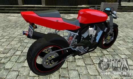 Suzuki Street Fighter Custom para GTA 4 esquerda vista