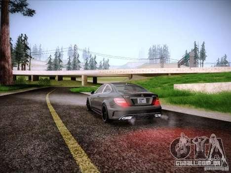 Improved Vehicle Lights Mod para GTA San Andreas por diante tela