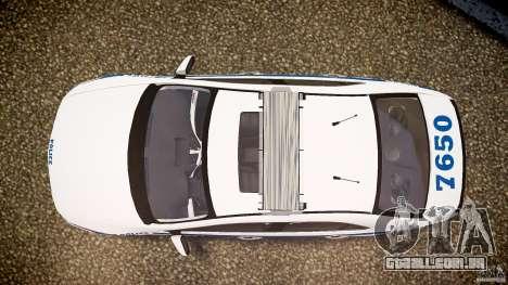 Honda Accord Type R NYPD (City Patrol 7605) ELS para GTA 4 vista direita