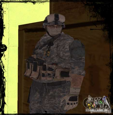 Soldado de infantaria dos Estados Unidos para GTA San Andreas