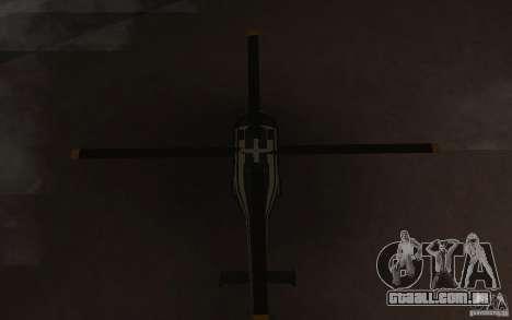 GTA IV Maverick para GTA San Andreas vista interior