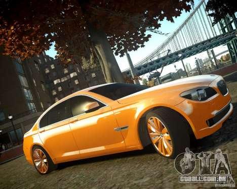 BMW 750Li  2010 para GTA 4 vista direita