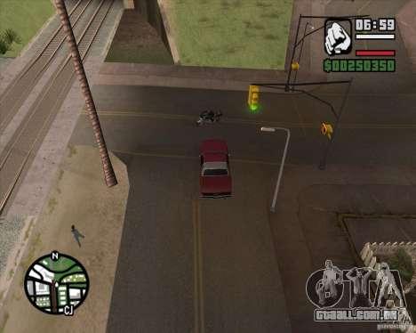 Câmera como em GTA Chinatown Wars para GTA San Andreas segunda tela