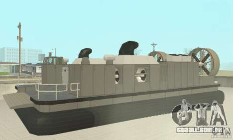Landing Craft Air Cushion para GTA San Andreas