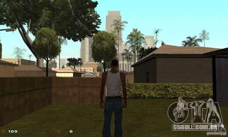 Cs 1.6 HUD para GTA San Andreas por diante tela