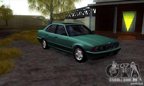 BMW 525 (E34) para GTA San Andreas