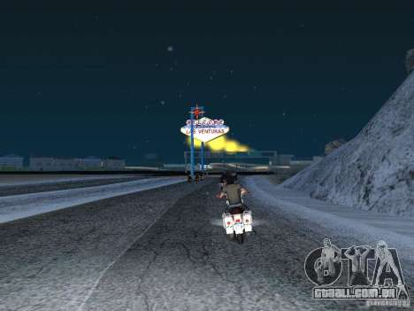 Neve para GTA San Andreas terceira tela