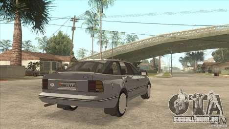 Ford Scorpio para GTA San Andreas esquerda vista