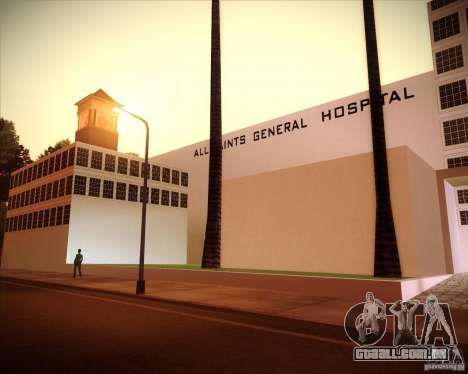 All Saints Hospital para GTA San Andreas terceira tela