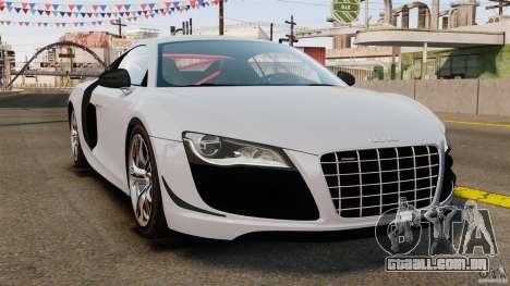 Audi R8 GT Coupe 2011 para GTA 4