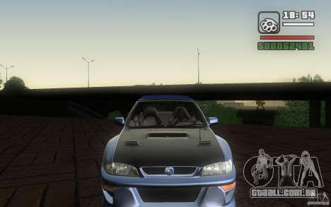 Subaru Impreza 22B para GTA San Andreas vista traseira