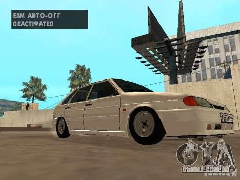 ВАЗ 2114 dreno para GTA San Andreas esquerda vista
