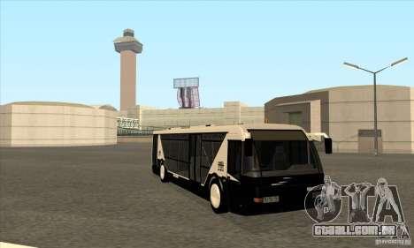 Neoplan Airport bus SA para GTA San Andreas vista traseira